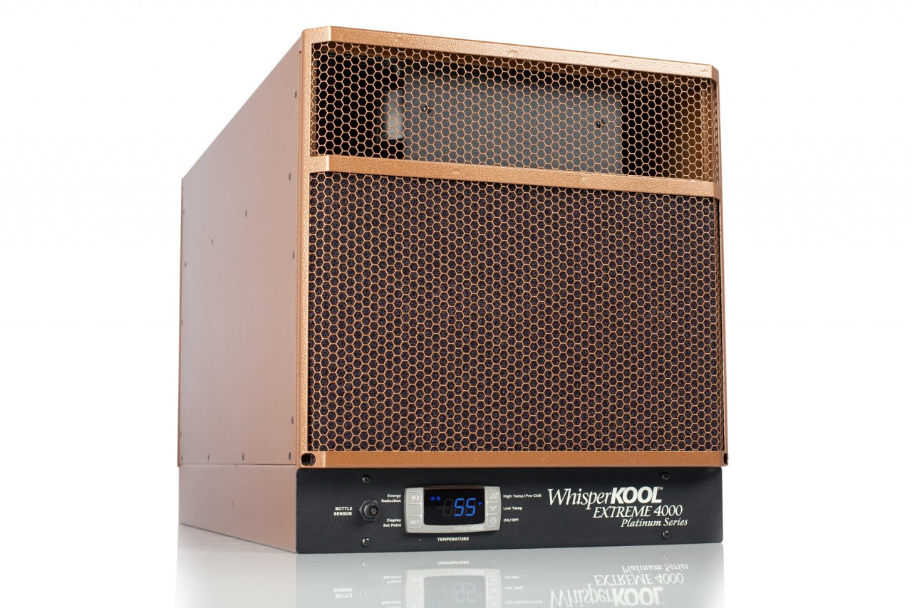 Room Cooling Units : Wine cellar cooling whisperkool extreme