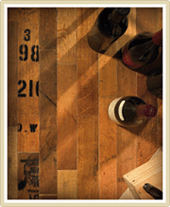 Custom Wine Cellars Wine Barrel Flooring
