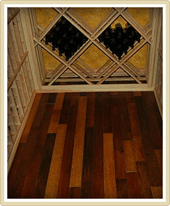 Wine Barrel Flooring for Wine Cellars