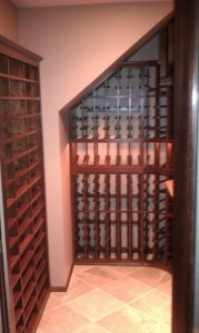 Custom Wood Wine Racks Made of Malaysian Mahogany