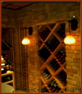 Click here to view other custom wine cellar projects by Coastal