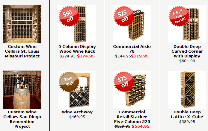Check out Coastal Custom Wine Racks here
