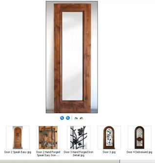 Choose Custom Wine Cellar Doors by Coastal
