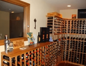Semi Custom Wine Racks San Diego CA