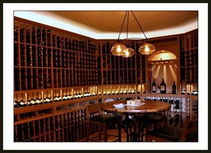 Check out this wine cellar project with awesome wine cellar lighting!