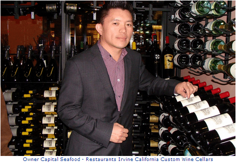Commercial Wine Cellars - Capital Seafood Restaurant in California