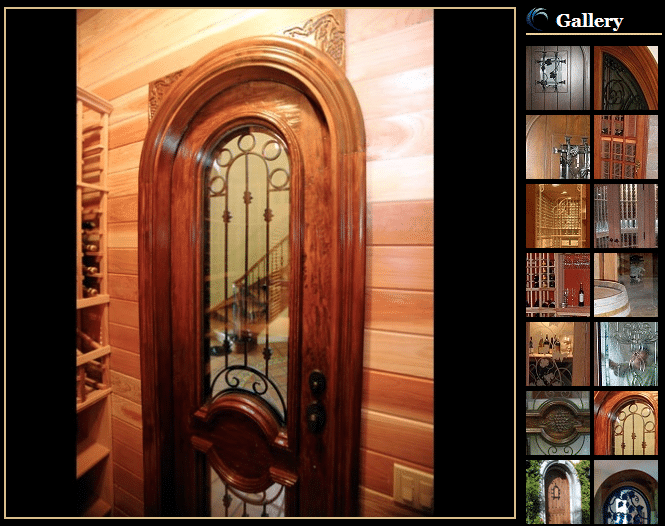 Custom Wine Cellar Doors by Coastal Wine Cellars by Coastal Intro to our Custom Wine Cellars Website
