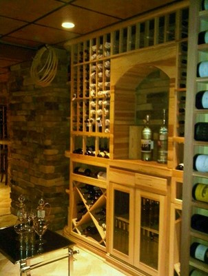 2247 Bottle Custom Wine Cellar – Wine Room Upgrade Residential job in New Jersey New Jersey Wine Cellar Design & Installation Services Office   Coastal Custom Wine Cellars