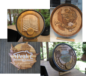 Wine Barrel Designs 300x264 Handcrafted Wine Barrel Designs for Custom Wine Rooms