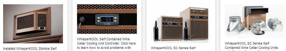 WhisperKool Cooling Units Trusted Brands of Quality Custom Wine Cellar Refrigeration Units