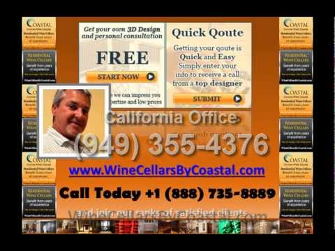 Free 3D Wine Cellar Design Offered by Coastal