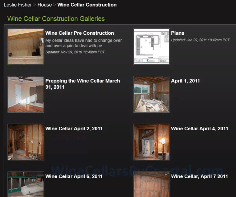 Wine Cellar Construction Galleries - Custom Wine Cellars Orange County