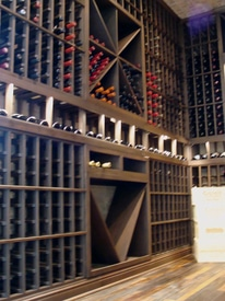 Wine Racks for Newport Beach California Project