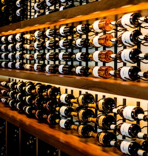 Commercial Wine Racking - Nikita Restaurant