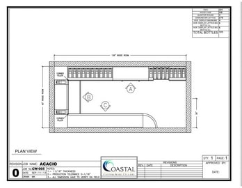 Wine Cellar Design - Elevations