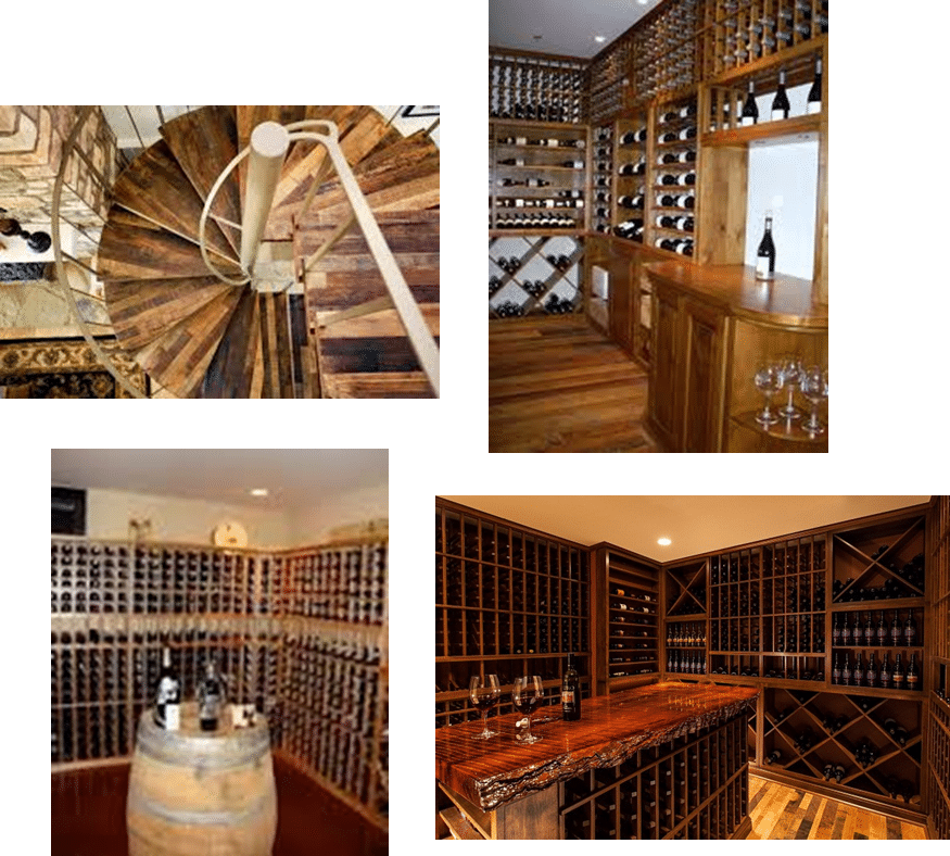 Building a Wine Cellar using Green Building Materials