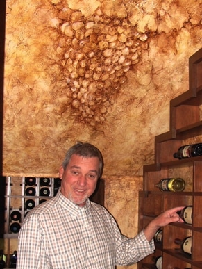 Wine Cellar Art Painting - With Jerry Wilson of Coastal